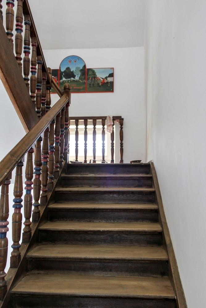 Treppenrenovierung München, Treppenstufen vorher